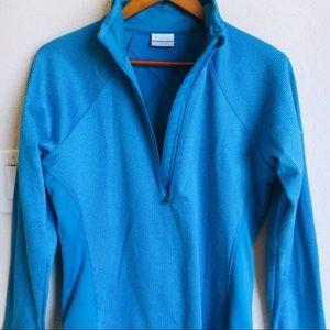 Columbia Half Zip Workout Jacket